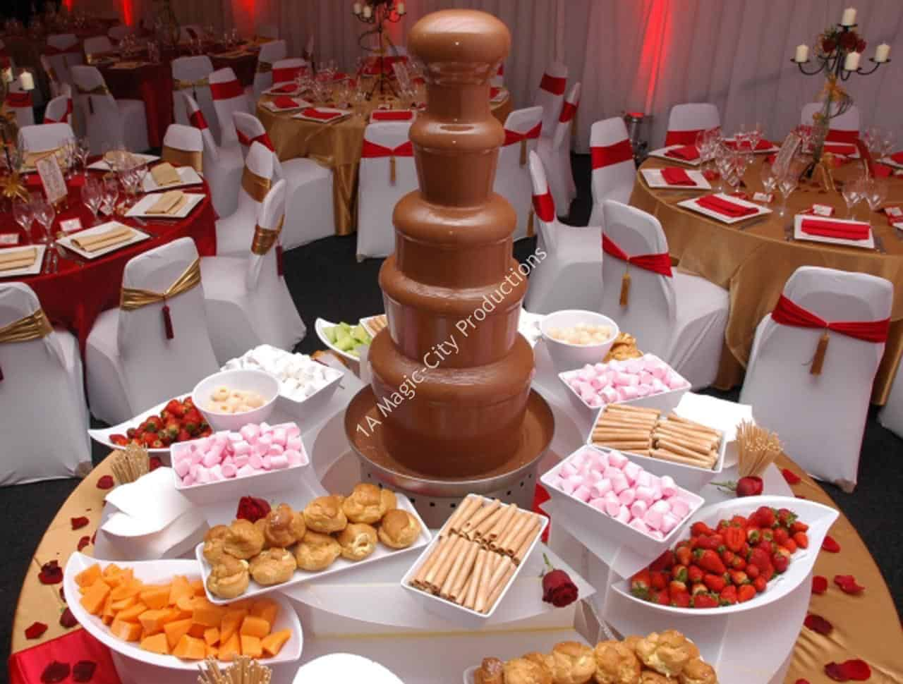 Chocolate Fountain Miami FL 12
